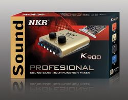 NKR K900 Online Karaoke Computer Sound Card is Updated